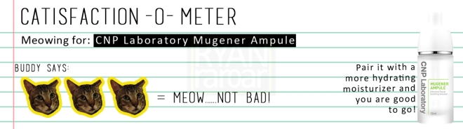 Catisfaction-o-meter (3x CNP Laboratory Mugener Ampule)