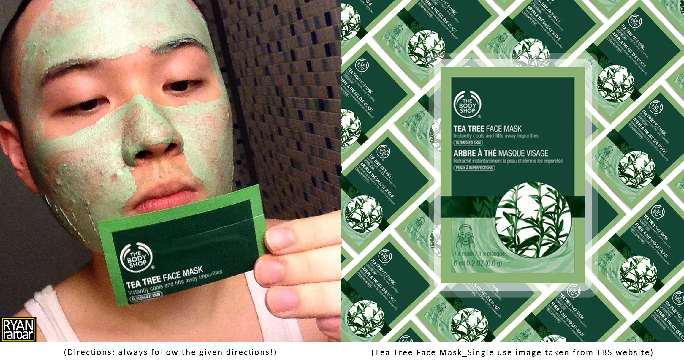 green tea face mask body shop