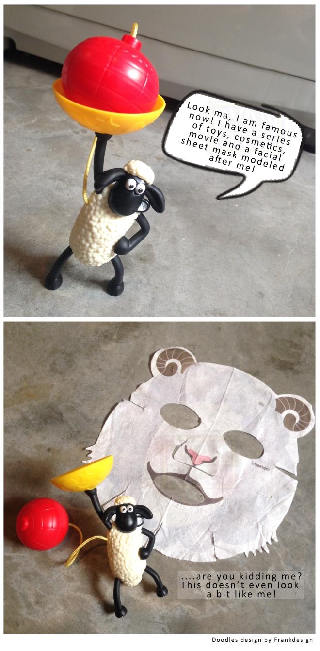 Berrisom Animal Sheet Mask - Sheep (Purchased