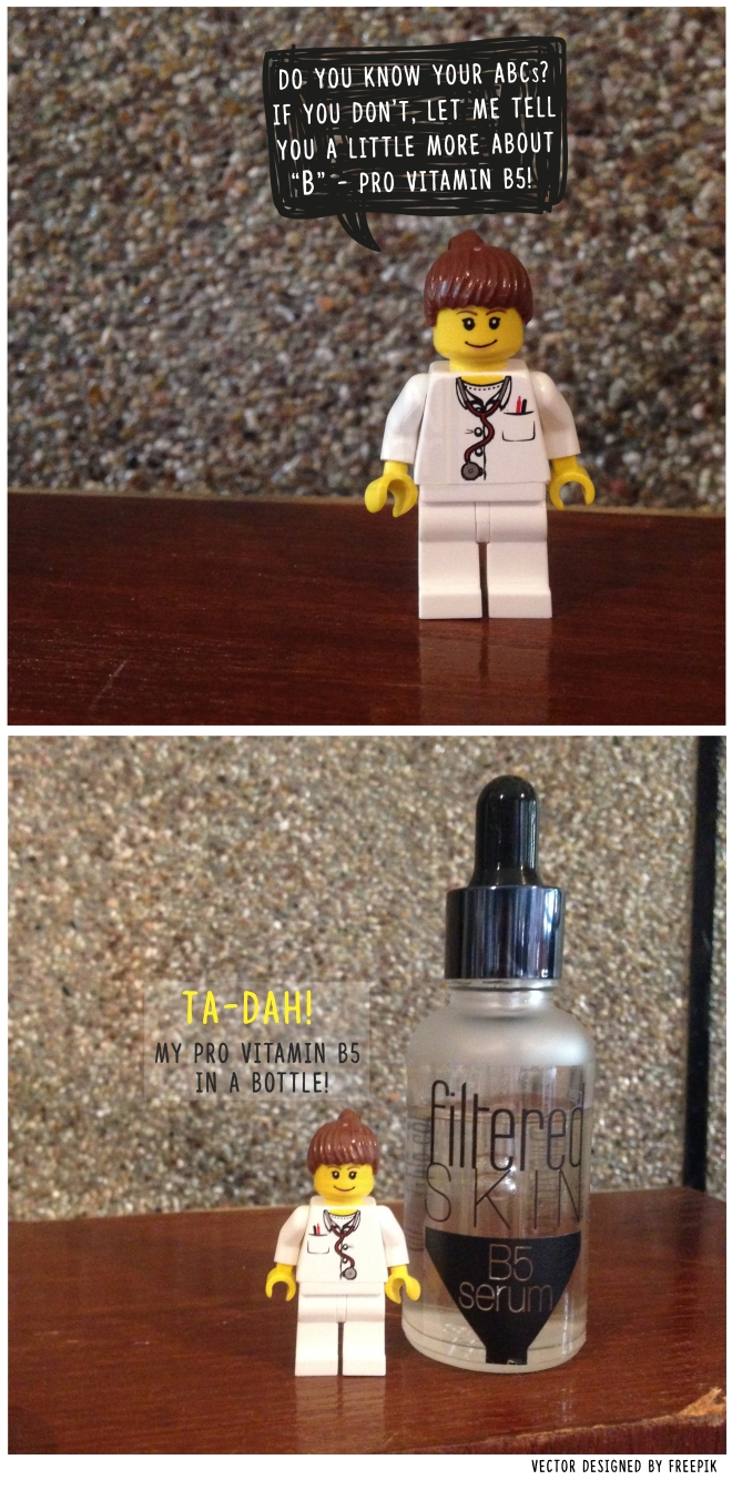 (Let Dr. Lego teach you a thing or two about Vitamin B5!)
