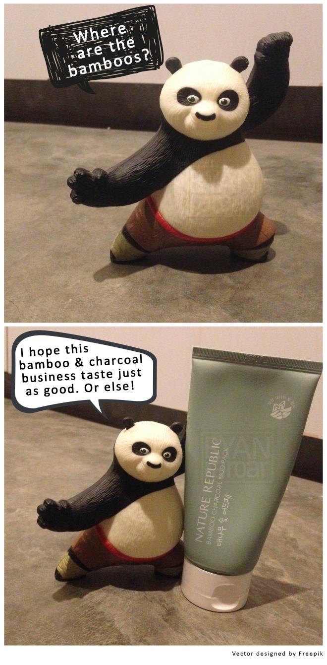 (Bamboo and Panda - get it? :P )