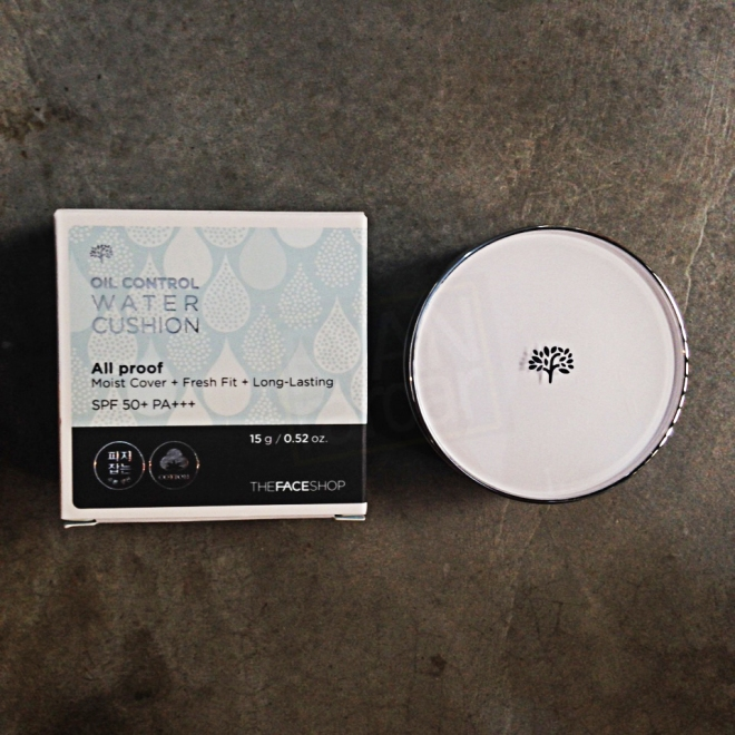 TheFaceShop All Proof Oil Control Water Cushion SPF50+ PA+++ (1)