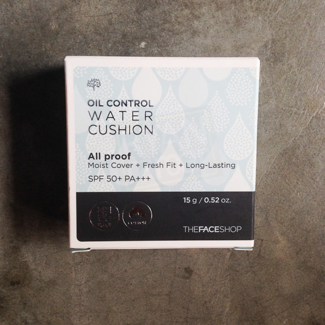 TheFaceShop All Proof Oil Control Water Cushion SPF50+ PA+++ (5)