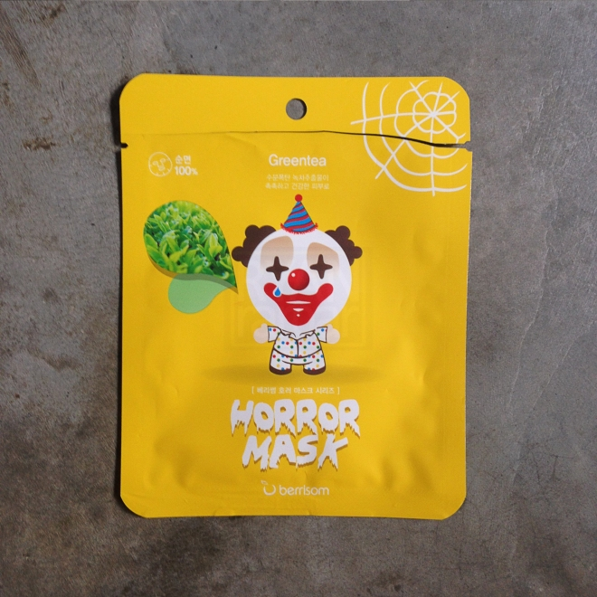 Berrisom Horror Mask - Pierrot (Green tea) 4