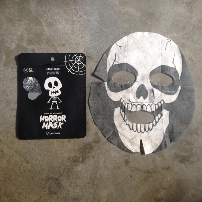 Berrisom Horror Mask - Skull (Black rice) 1