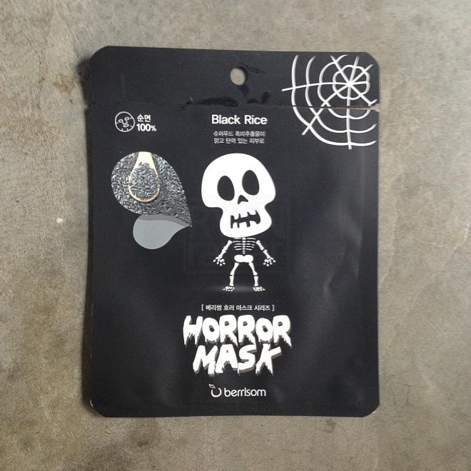 Berrisom Horror Mask - Skull (Black rice) 3