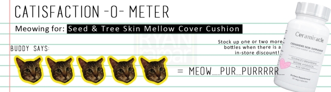 Catisfaction-o-meter (5x Ceramiracle Ceramides SKin Supplement)