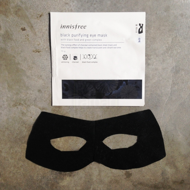 Innisfree Black Purifying Eye Mask (1)