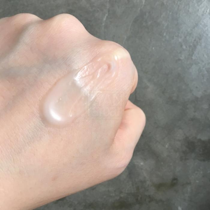 (Smear the moisturizer around a little...)