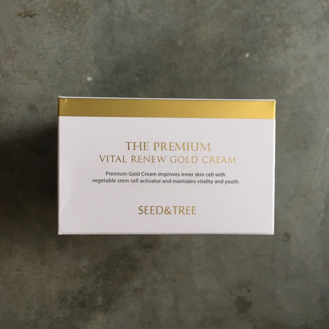 Seed & Tree The Premium Vital Renew Gold Cream 05