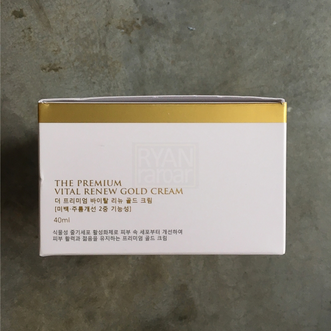 Seed & Tree The Premium Vital Renew Gold Cream 08