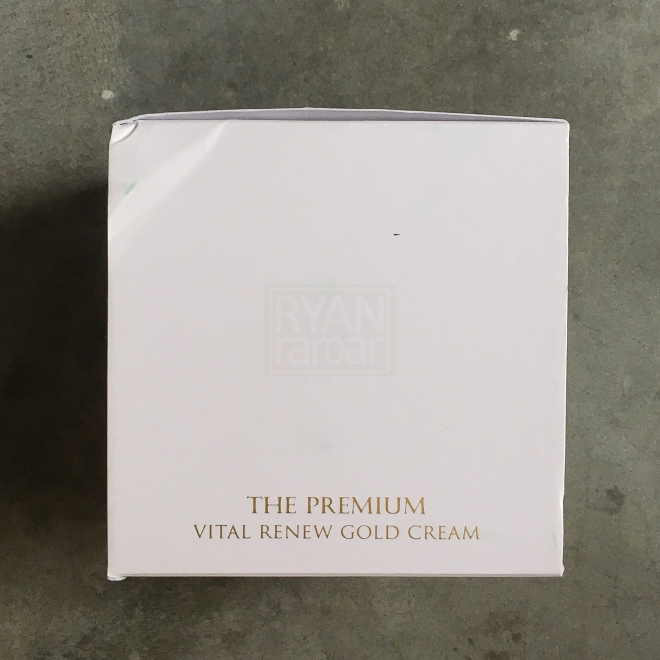 Seed & Tree The Premium Vital Renew Gold Cream 09
