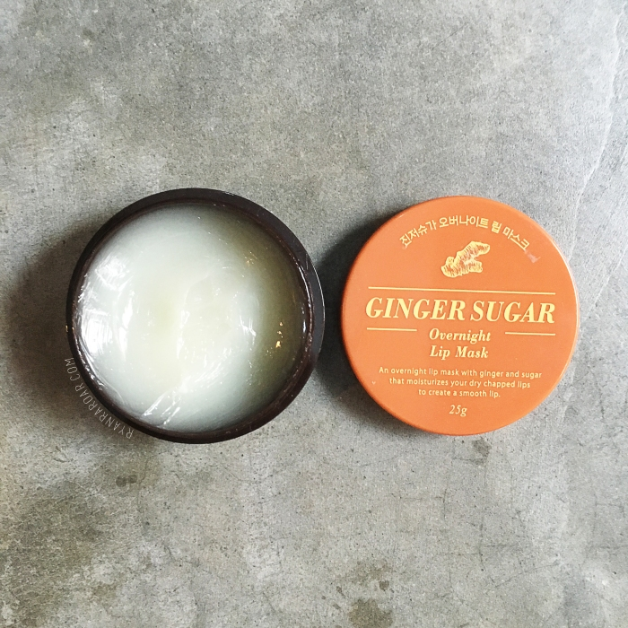 Aritaum Ginger Sugar Overnight Sugar Overnight Lip Mask 03