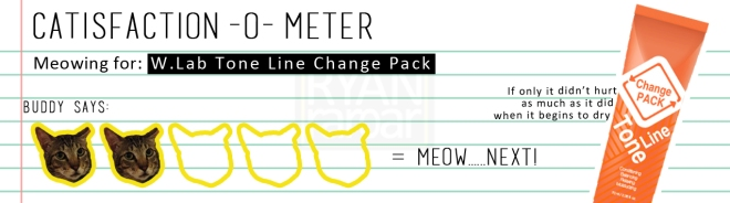 Catisfaction-o-meter (2x W.Lab Tone Line Change Pack)