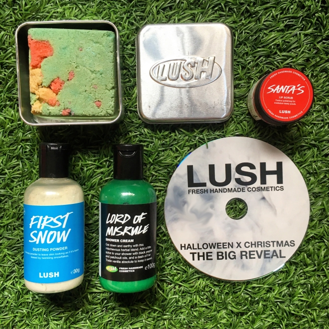 Lush Lord of Misrule Shower Cream (PR kit)