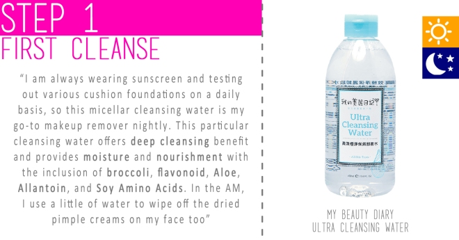 Step 01 - First Cleanse