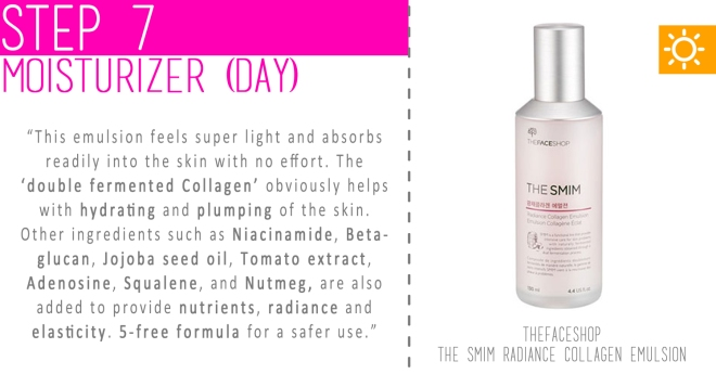 Step 07 - Moisturizer (Day)