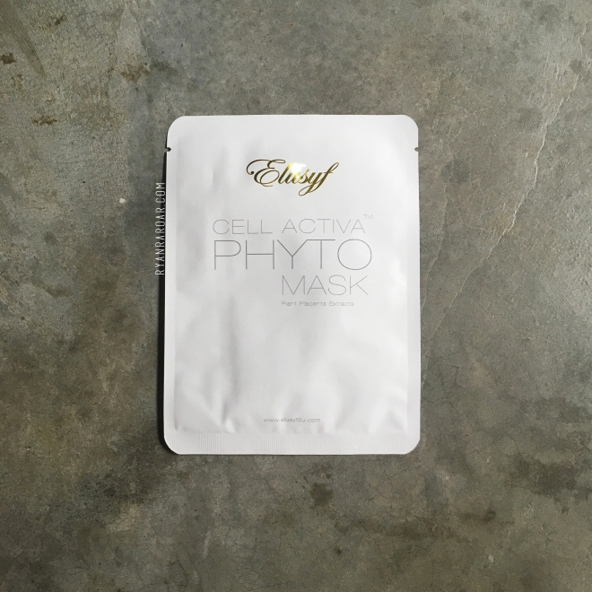 Elusyf Cell Activa Phyto Mask 01