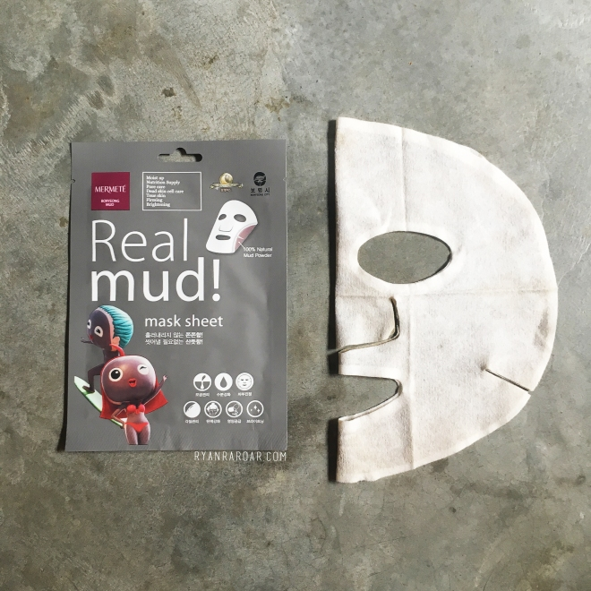 Mermete Real Mud! Mask Sheet 00