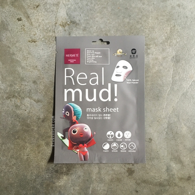 Mermete Real Mud! Mask Sheet 01
