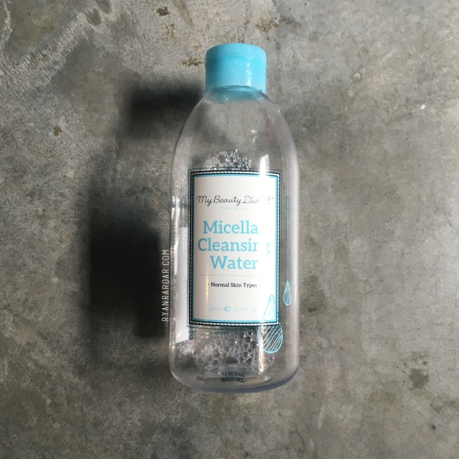 My Beauty Diary Micellar Cleansing Water 01
