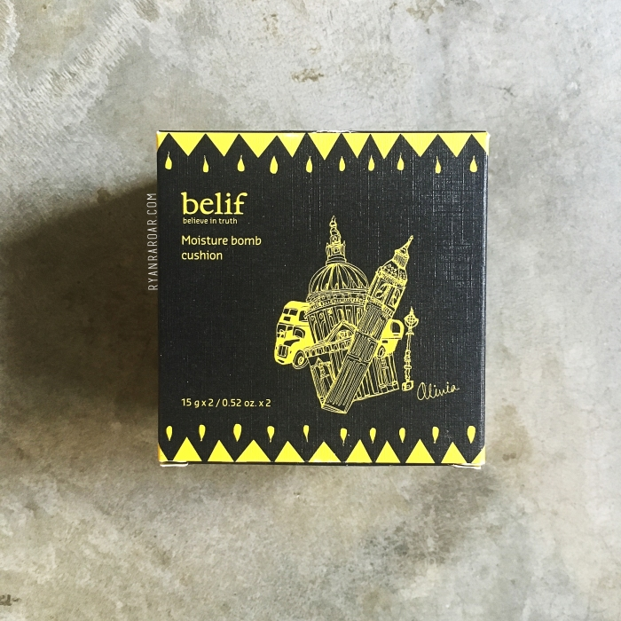 Belif Moisture Bomb Cushion 02