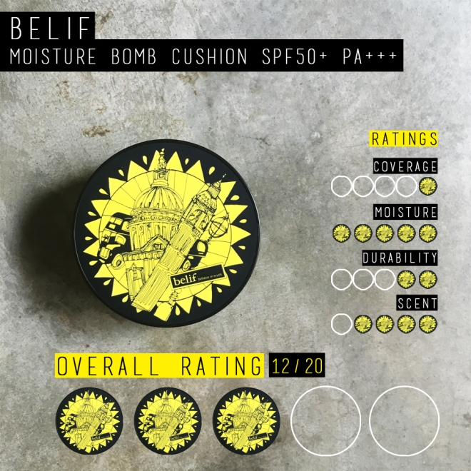 Belif Moisture Bomb Cushion (Rating)