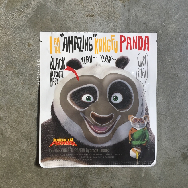 I'm The Amazing Kung Fu Panda Hydrogel Mask 01