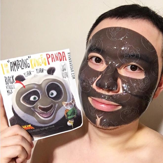 I'm The Amazing Kung Fu Panda Hydrogel Mask 05
