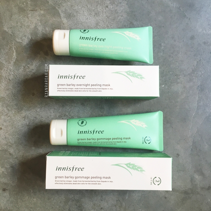 Innisfree Green Barley Peeling Duo 01