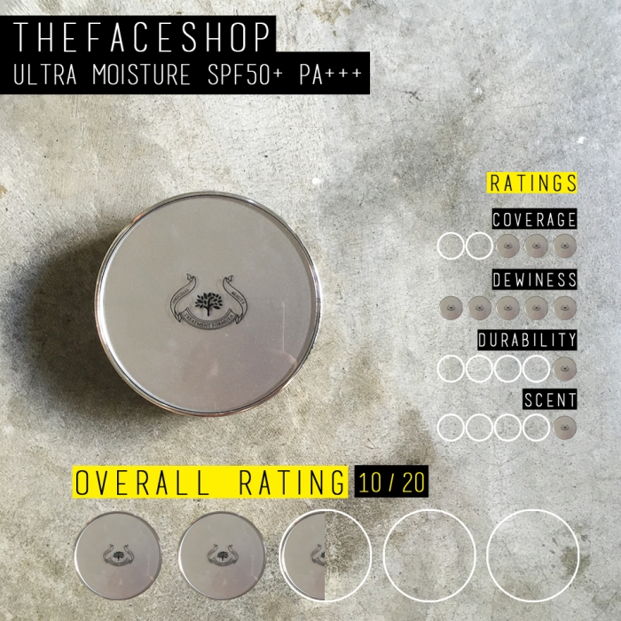 Thefaceshop CC Cushion Ultra Moisture (Rating)