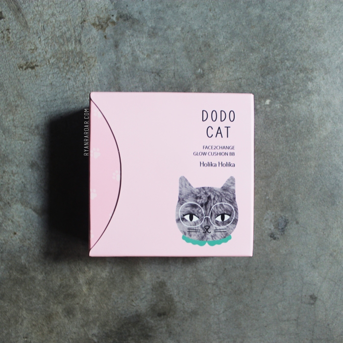 Holika Holika Face2Change Dodo Cat Glow Cushion 02