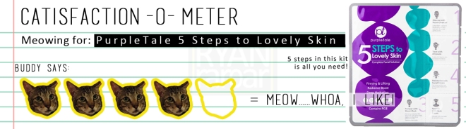 Catisfaction-o-meter (4 x PurpleTale 5 Steps to Lovely Skin).jpg