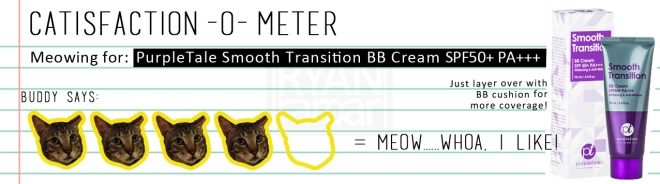Catisfaction-o-meter (4x PurpleTale Smooth Transition BB Cream).jpg