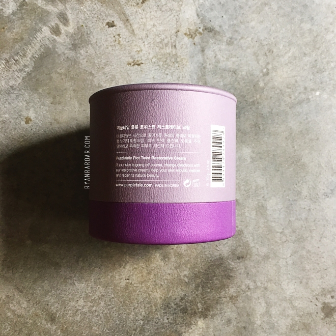 PurpleTale Plot Twist Restorative Cream 03
