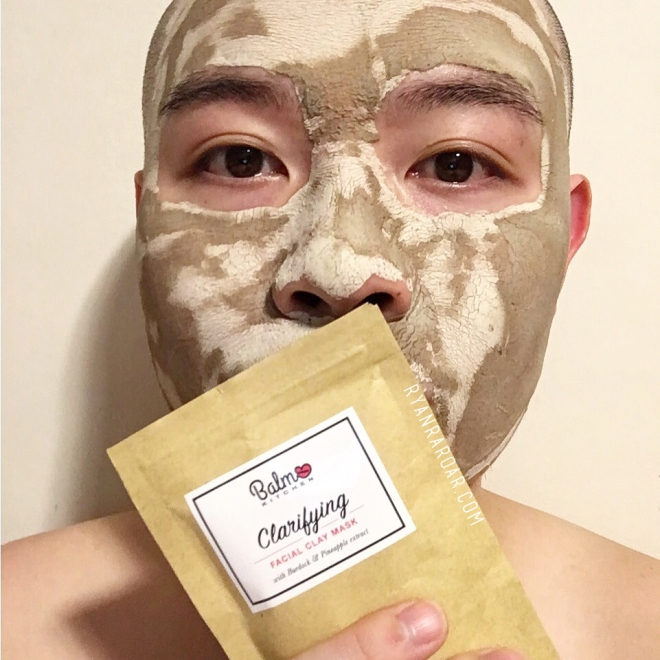 Balm Kitchen Clarifying Facial Clay Mask (Worn).jpg