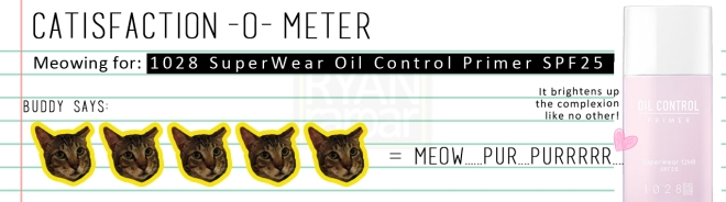 Catisfaction-o-meter (5x 1028 SuperWear Oil Control Primer SPF25).jpg