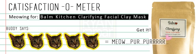 Catisfaction-o-meter (5x Balm Kitchen Clarifying Facial Clay Mask).jpg