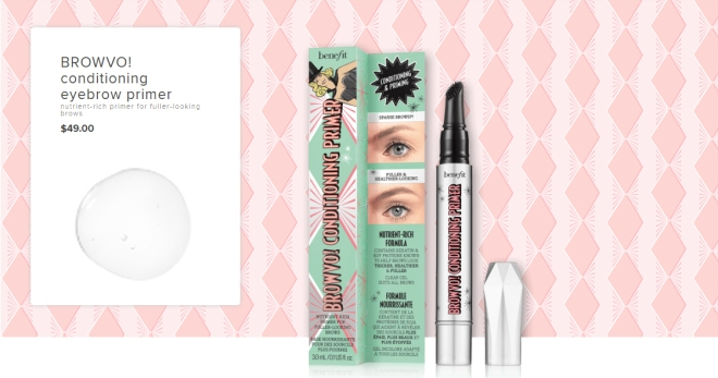 Benefit BrowVO! Conditioning Primer (Product info)