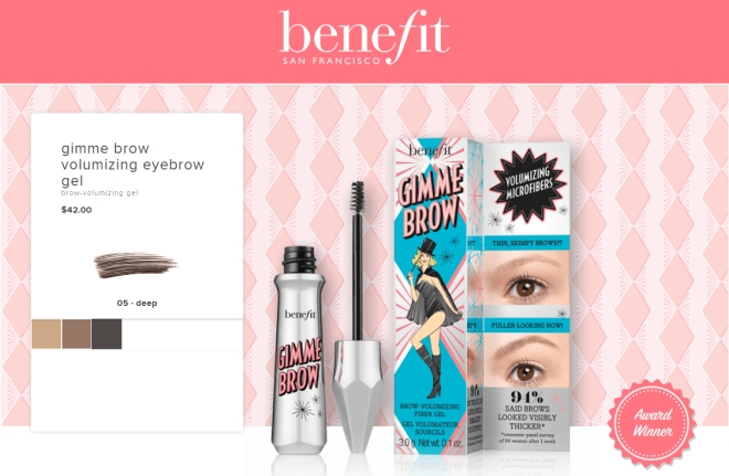 Benefit Gimme Brow (Product info)