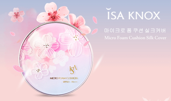 ISA KNOX Micro Foam Cushion Silk Cover SPF50+ PA+++.jpg