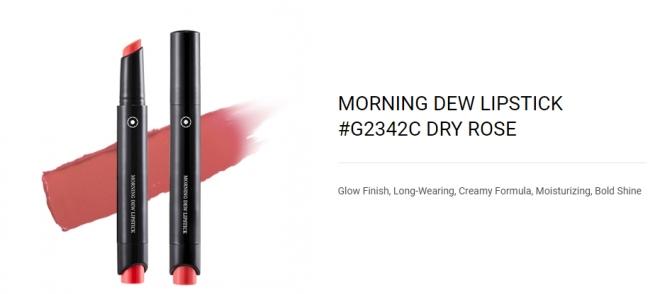 Morning Dew Lipstick (G2342C Dry Rose) - 01