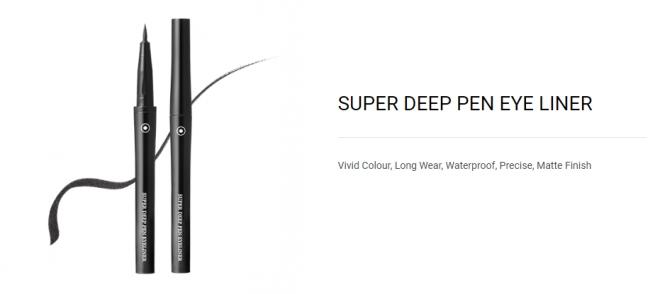 Super Deep Pen Eyeliner (Black) - 01