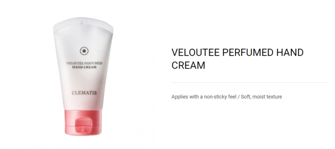 Veloutee Perfumed Hand Cream - 01