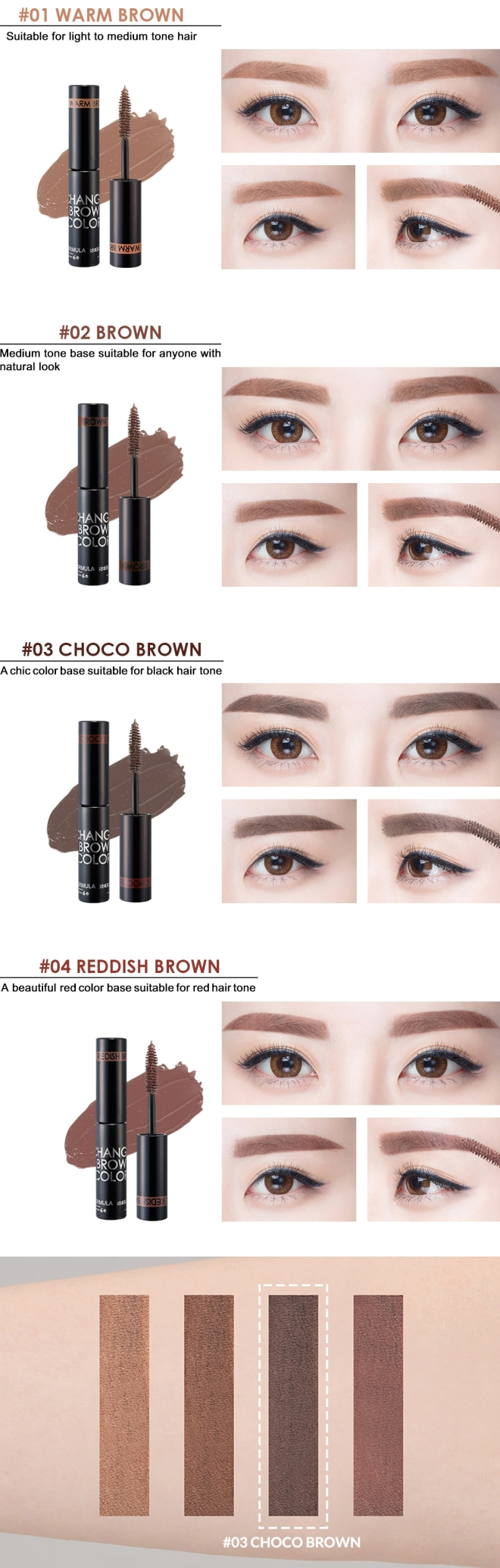 Change Brow Color (Info 02)
