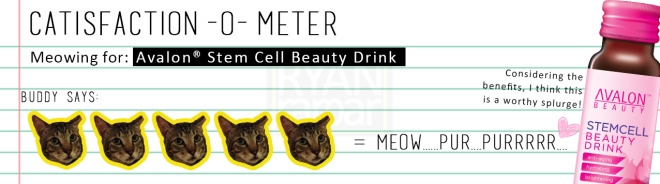 Catisfaction-o-meter (5x Avalon Beauty Stem Cell Beauty Drink).jpg